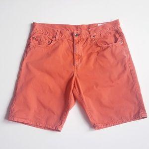 rag & bone Slim Fit Men Short Distressed Cotton